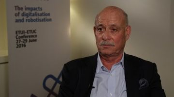 Jeremy Rifkin on role of trade unions & cooperatives in the zero marginal cost society