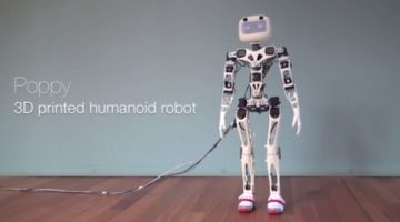 Poppy is an Open-source humanoid platform based on robust, flexible, easy-to-use hardware and software. Its development aims at providing an affordable humanoid robot for Research and Education.